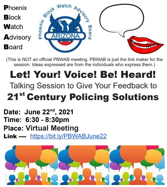 Let! Your! Voice! Be! Heard!